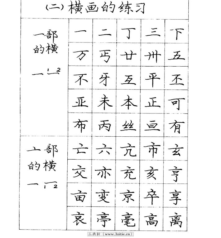 庞中华硬笔钢笔书法字帖05(楷书)书法作品字帖欣赏三