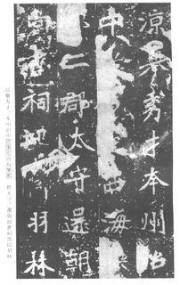《张猛龙清颂碑》14作品欣赏