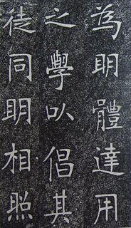 张裕钊《南宫县学记》36作品欣赏