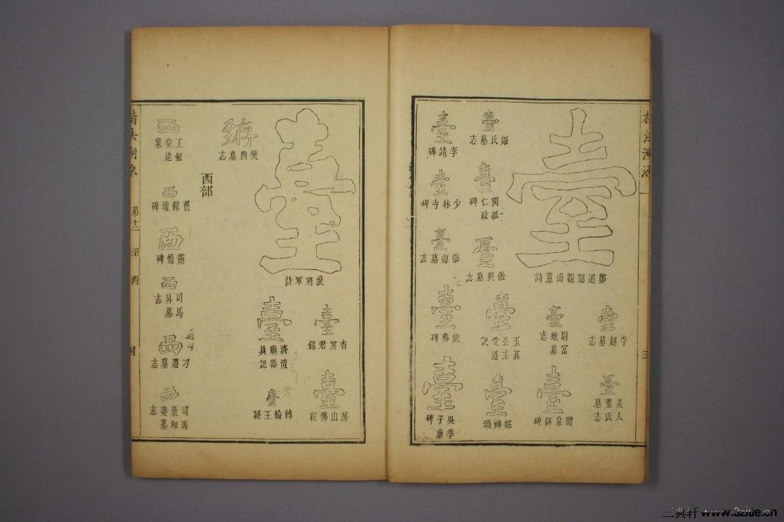 (清)杨守敬编楷法溯源卷十二0005作品欣赏
