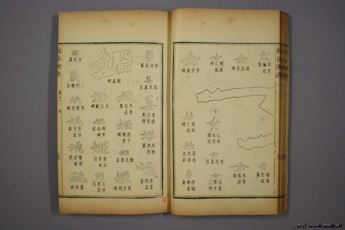 (清)杨守敬编楷法溯源卷十二0032作品欣赏
