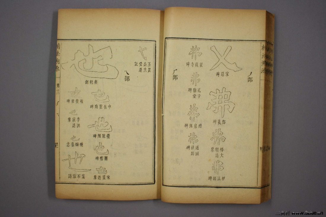 (清)杨守敬编楷法溯源卷十二0042作品欣赏