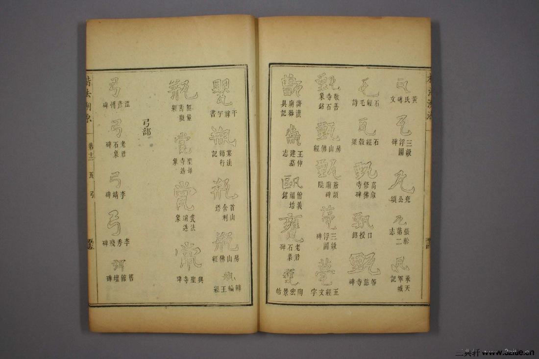 (清)杨守敬编楷法溯源卷十二0056作品欣赏