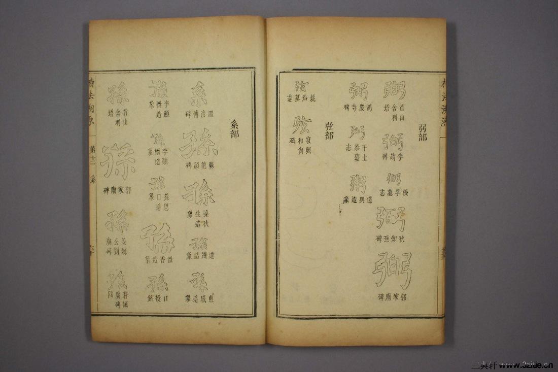 (清)杨守敬编楷法溯源卷十二0061作品欣赏