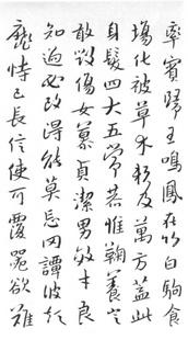 (明)朱耷(八大山人)行书千字文0003作品欣赏