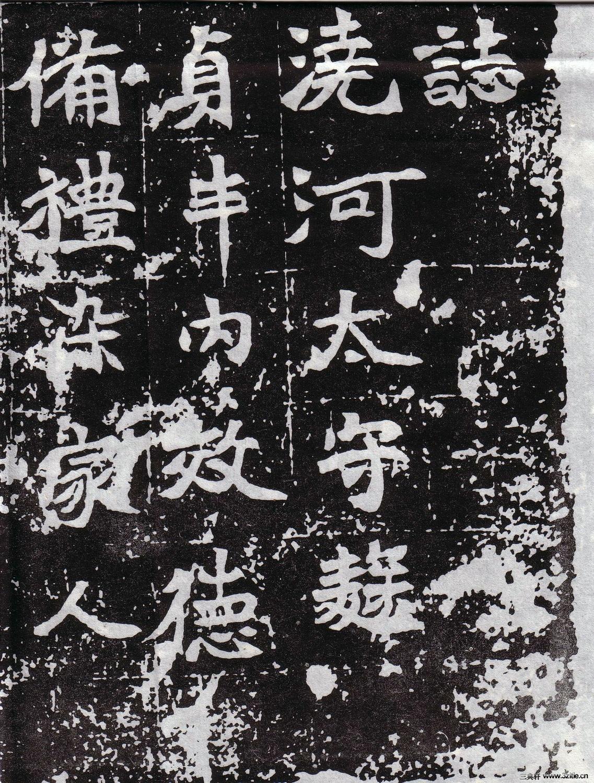 北魏《城阳王元寿妃菊氏墓志》0003作品欣赏