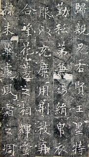 唐代《毗伽公主墓志铭》0007作品欣赏