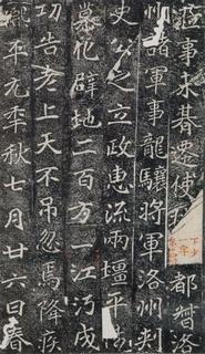 (北魏)楷书_雒州刺史刁惠公墓志铭0006作品欣赏