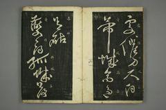 (唐)怀素草书秋兴八首(日延保版)0005作品欣赏