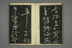(唐)怀素草书秋兴八首(日延保版)0013作品欣赏