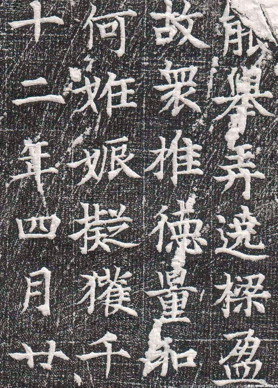 唐代墓志碑文石刻书法《意幼墓志》0005作品欣赏