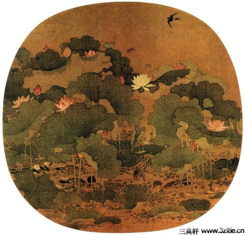 历代名家墨荷图欣赏0003作品欣赏