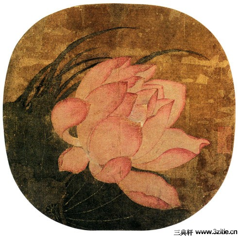 历代名家墨荷图欣赏0005作品欣赏