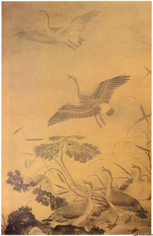 历代名家墨荷图欣赏0006作品欣赏
