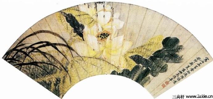 历代名家墨荷图欣赏0027作品欣赏