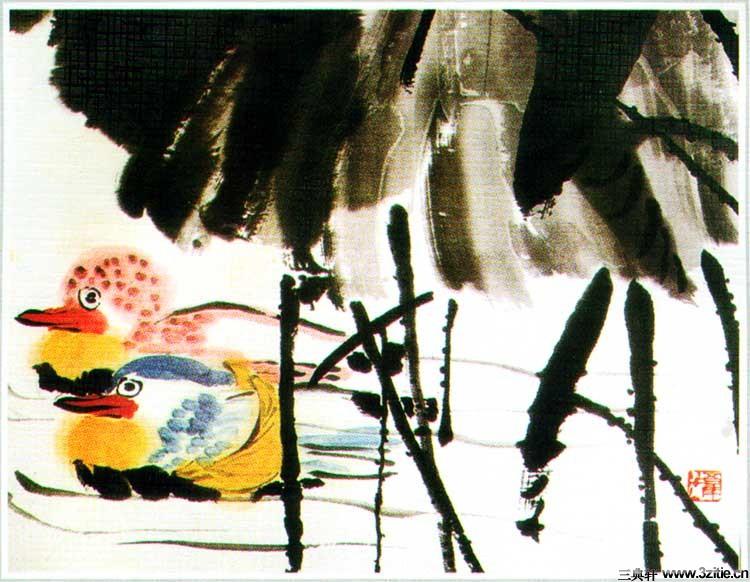 齐白石花鸟鱼虫国画0004作品欣赏