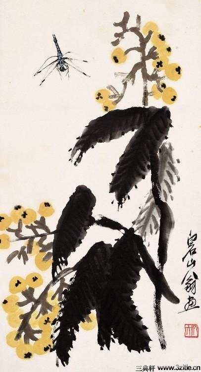 齐白石绘画作品欣赏(一)0002作品欣赏