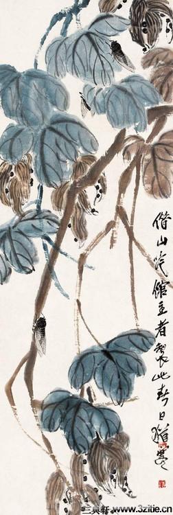 齐白石绘画作品欣赏(一)0006作品欣赏