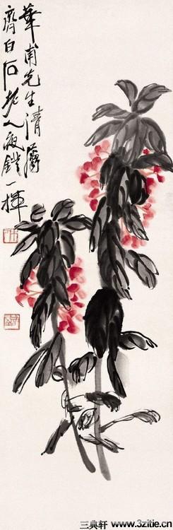 齐白石绘画作品欣赏(一)0011作品欣赏