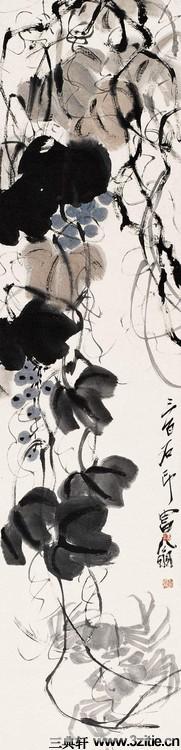 齐白石绘画作品欣赏(一)0012作品欣赏