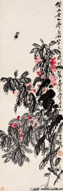 齐白石绘画作品欣赏(一)0032作品欣赏