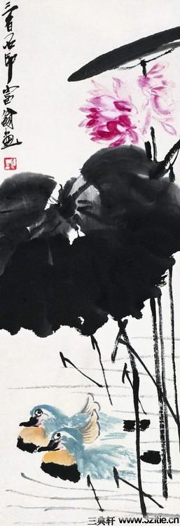 齐白石绘画作品欣赏(一)0040作品欣赏