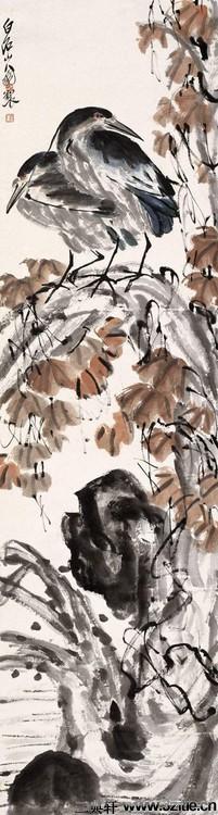 齐白石绘画作品欣赏(一)0047作品欣赏