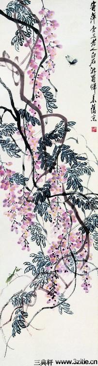齐白石绘画作品欣赏(一)0054作品欣赏