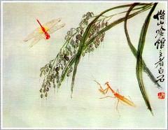 齐白石花鸟鱼虫国画0002作品欣赏