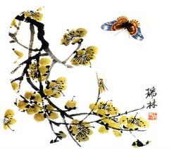 齐白石花鸟鱼虫国画0013作品欣赏