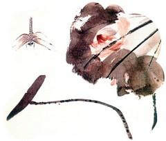齐白石花鸟鱼虫国画0019作品欣赏