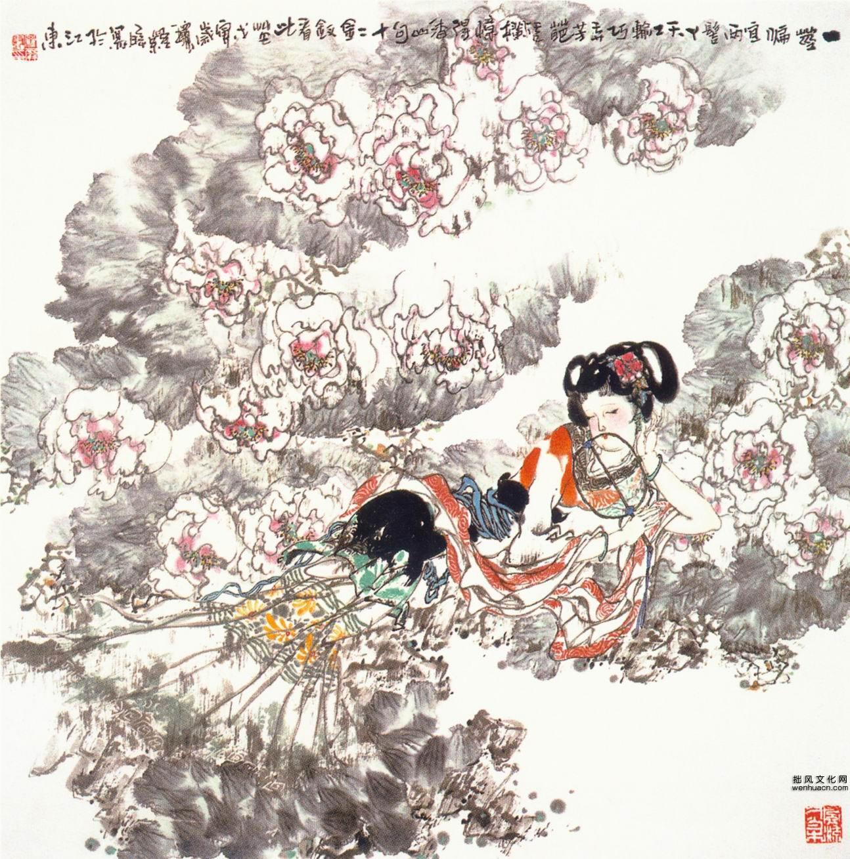 中国现代人物画精选(四)0010作品欣赏