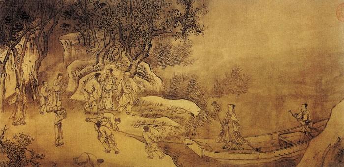 中国传世人物画:元代(一)0001作品欣赏