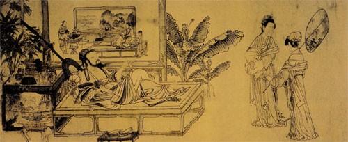 中国传世人物画:元代(一)0002作品欣赏