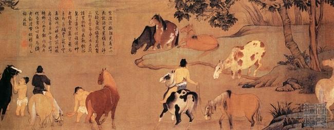 中国传世人物画:元代(一)0006作品欣赏