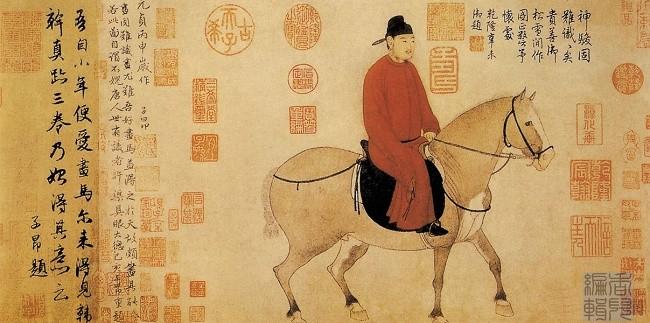 中国传世人物画:元代(一)0007作品欣赏
