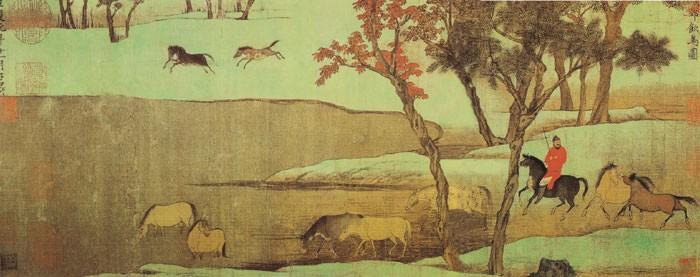 中国传世人物画:元代(一)0009作品欣赏