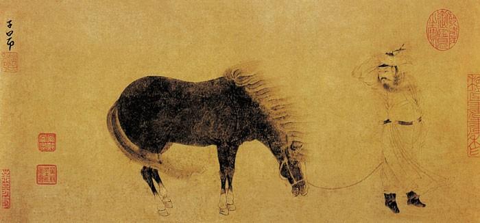 中国传世人物画:元代(一)0010作品欣赏