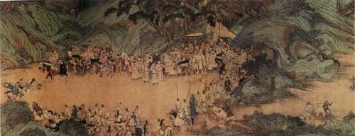 中国传世人物画:元代(一)0014作品欣赏
