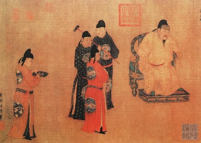 中国传世人物画:元代(一)0016作品欣赏