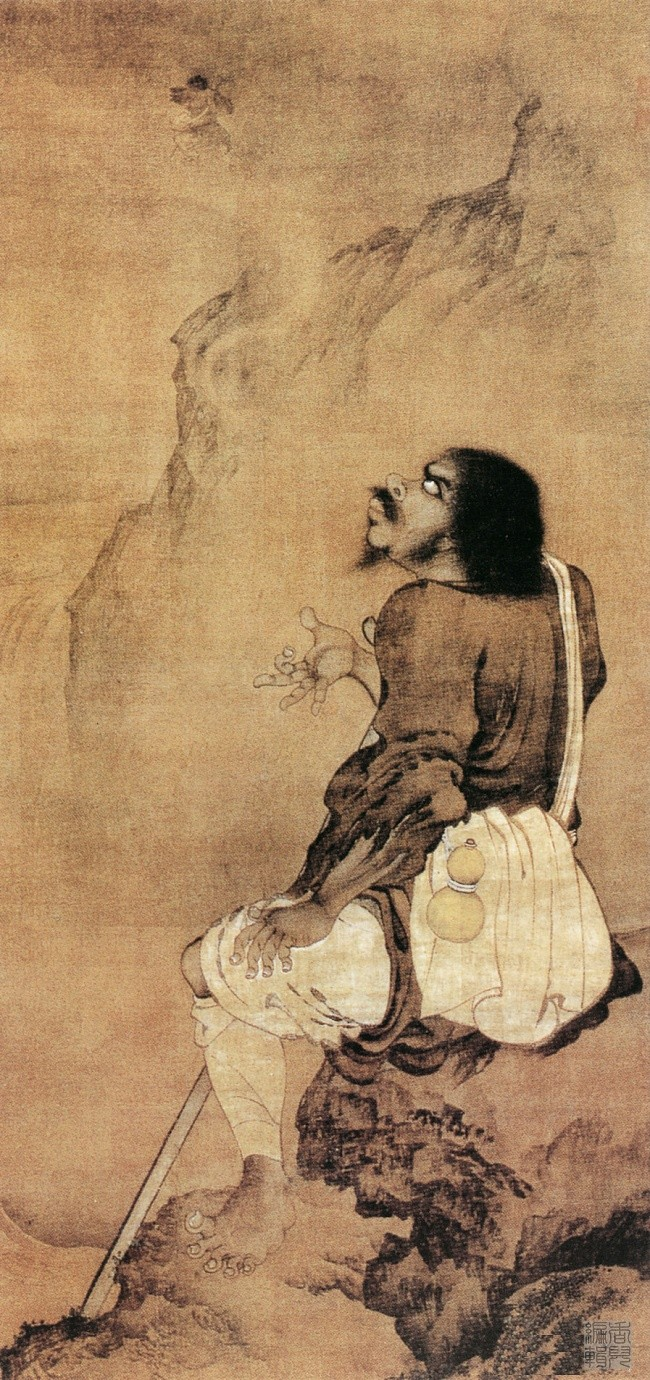 中国传世人物画:元代(一)0018作品欣赏
