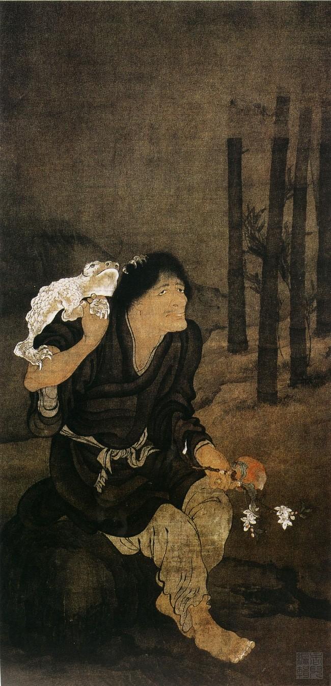 中国传世人物画:元代(一)0019作品欣赏