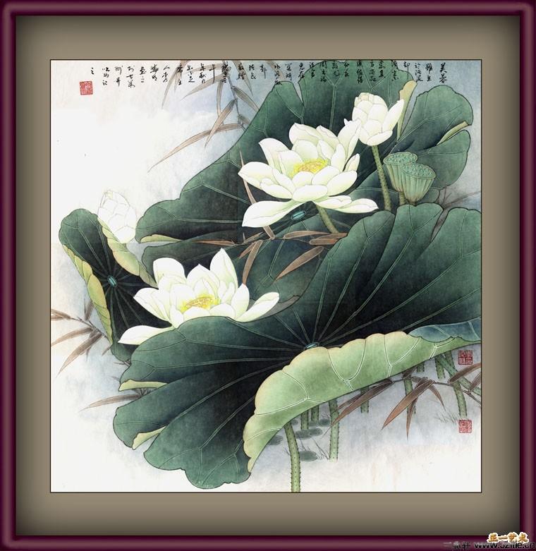 李晓明工笔画 画册设计欣赏