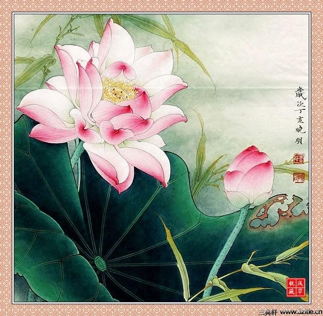 李晓明工笔画欣赏