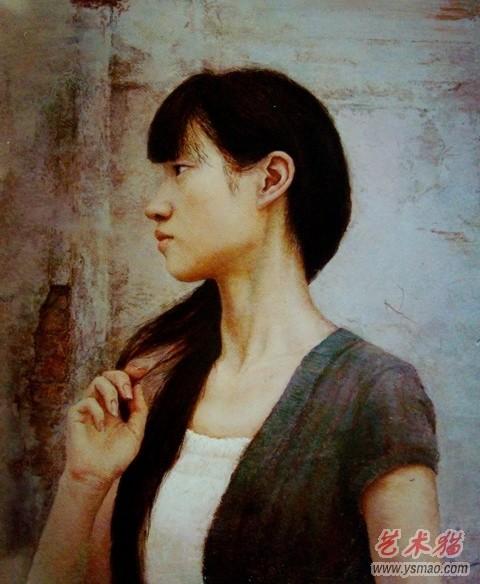人物油画肖像精选作品欣赏油画合辑三典轩书画网 在