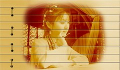 古香古色的竹简字画0013作品欣赏