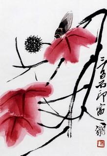 齐白石国画作品(上)0012作品欣赏