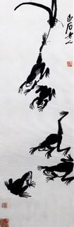 齐白石国画作品(上)0013作品欣赏