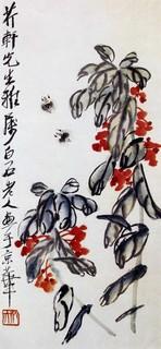 齐白石国画作品(上)0015作品欣赏