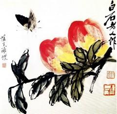 齐白石国画作品(上)0023作品欣赏